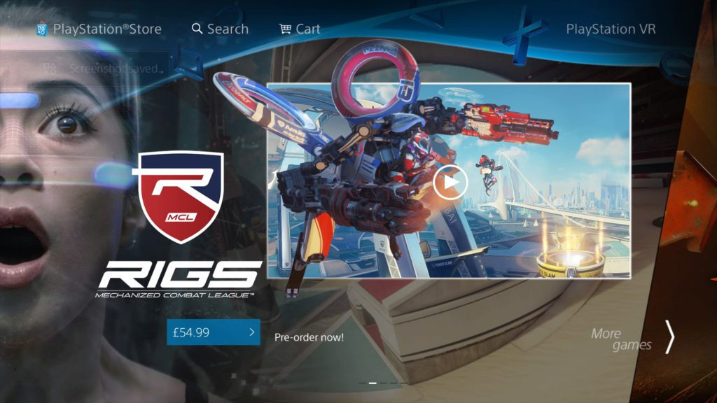 PS Store - Rigs