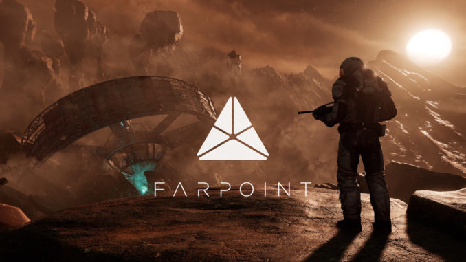 Farpoint PSVR játék