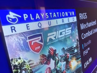 Playstation VR Required