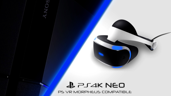 Playstation VR és Playstation Neo kompatibilitás