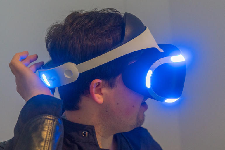 PlayStation VR rögzítés