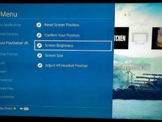 PlayStation VR beállítások