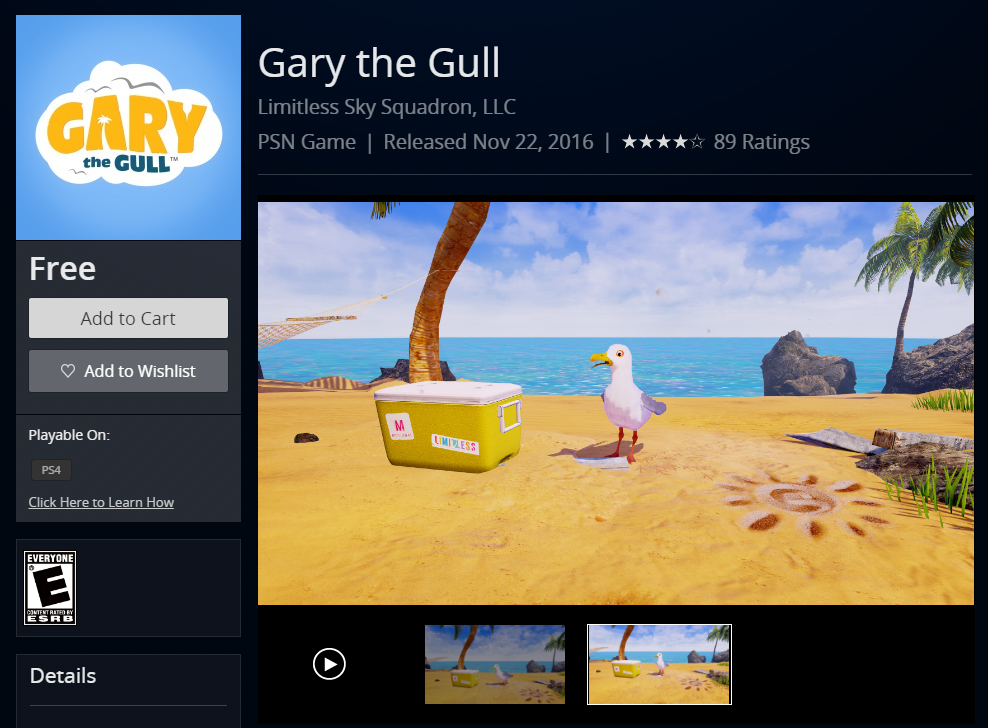 Gery The Gull