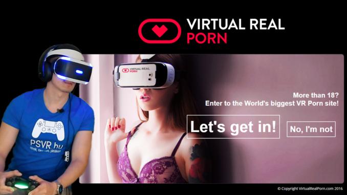 PlayStation VR pornó teszt