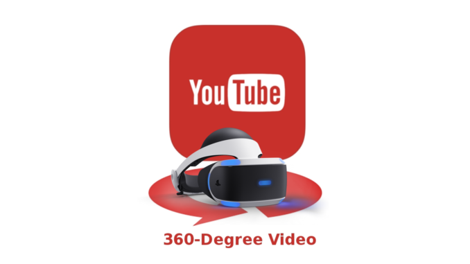 Youtube 360 psvr