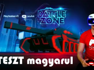 Battlezone PSVR teszt