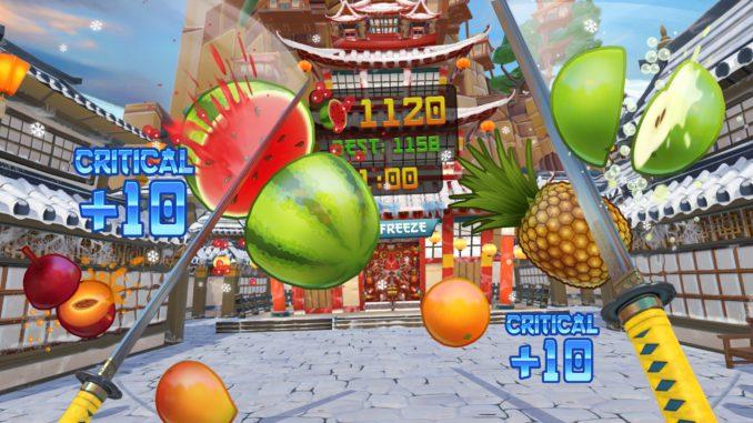 Fruit Ninja PSVR