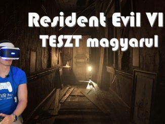 Resident evil 7 psvr teszt