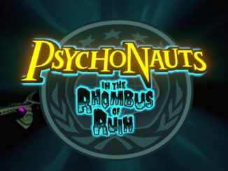 Psychonauts in the rhombus of ruin psvr