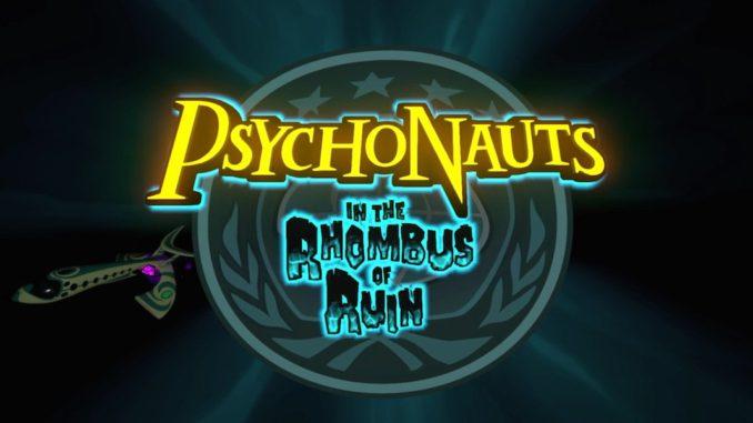 Psychonauts in the rhombus of ruin psvr