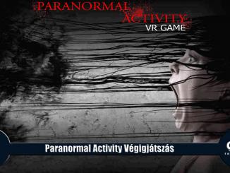 Paranormal Activity végigjátszás