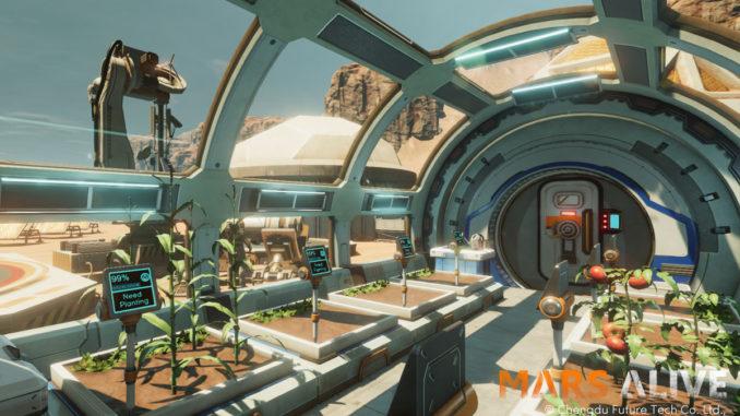 Mars Alive PSVR